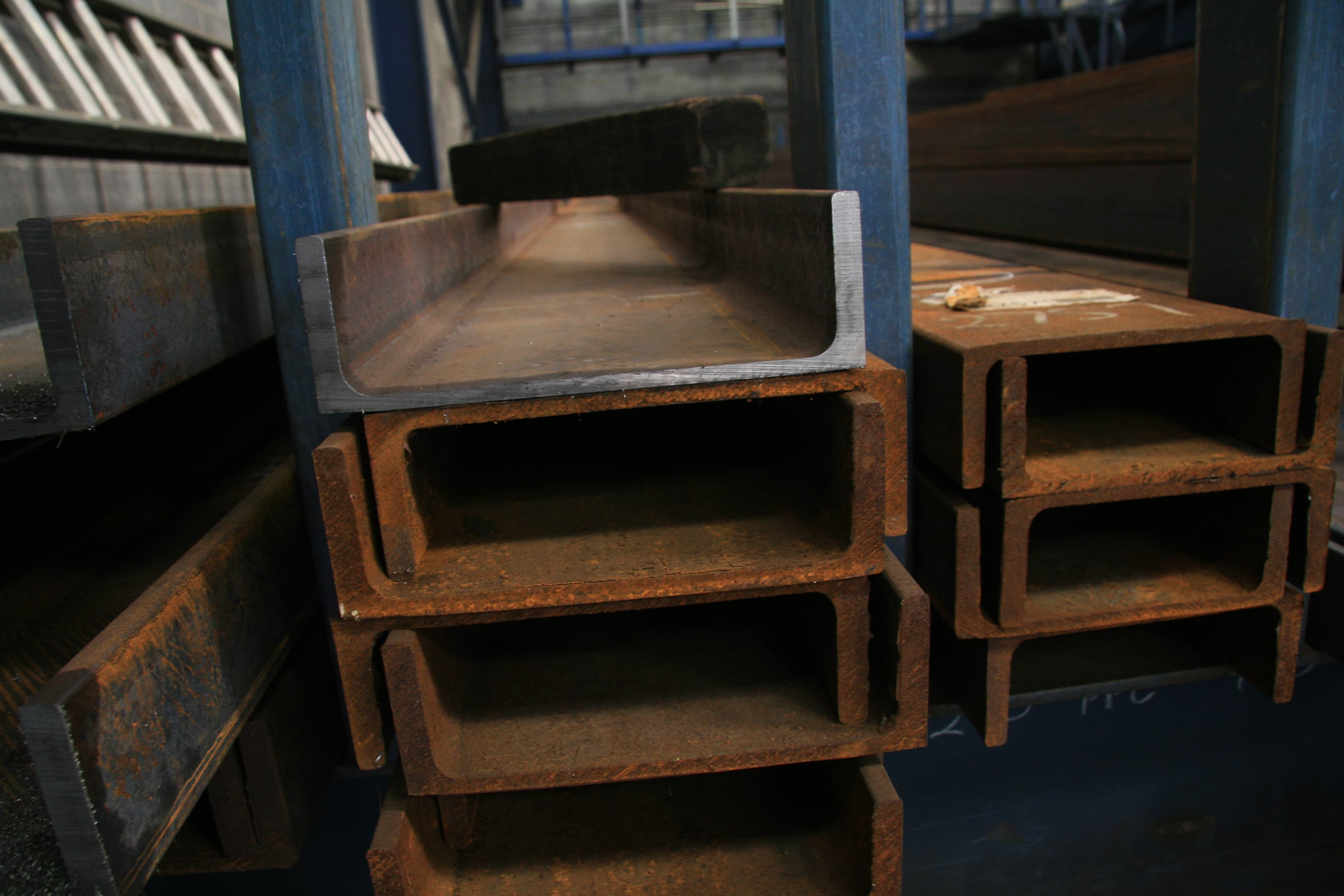 Buy Steel Mild Steel C Section - Channel 125 PFC Mill Finish