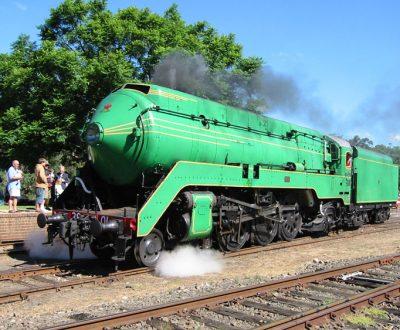 3801 Steam Train