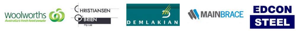 Woolworths Glenquarie logos