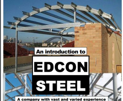 Edcon Steel Structural Projects Catalogue