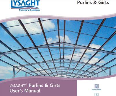 Purlin and Girt Manual