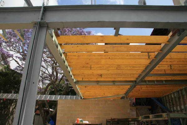 Floor beam (bearer beam)