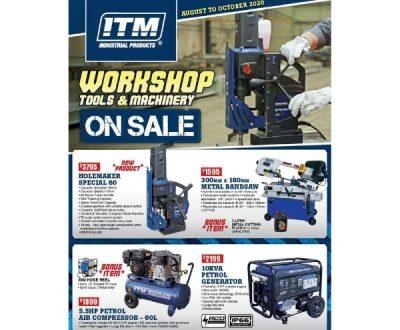 Workshop tools & machinery