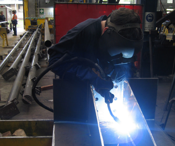 Structural welding processes