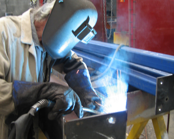 Types of structural welds