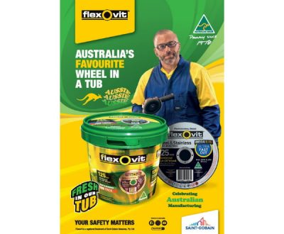 Flexovit (Australia's Favourite Wheel in a Tub)