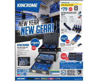 Kincrome New Year New Gear