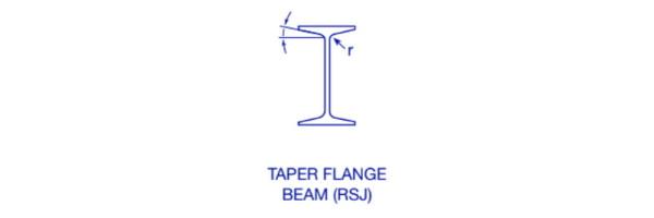 Taper Flange Beams (TFB or RSJ)