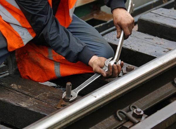 Track repairs