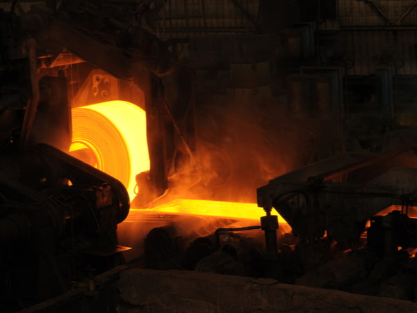 India's steel production slows