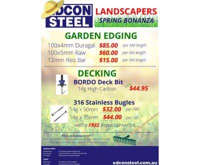 Landscapers Spring Bonanza