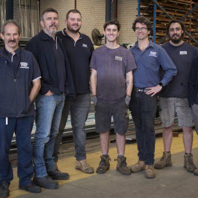 Edcon Steel's expert team